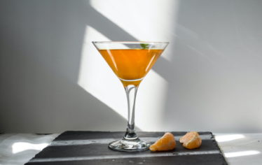 Cocktail Breakfast Martini